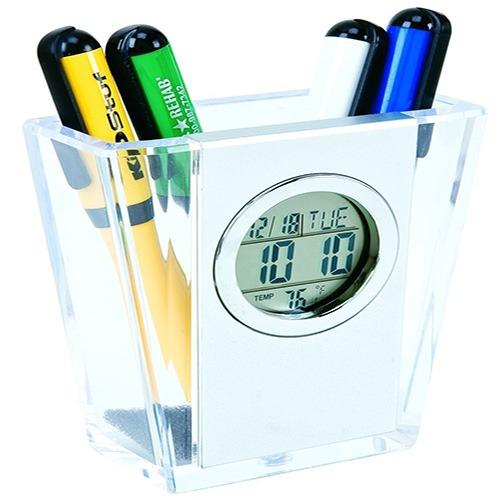 Pen Holder Clocks