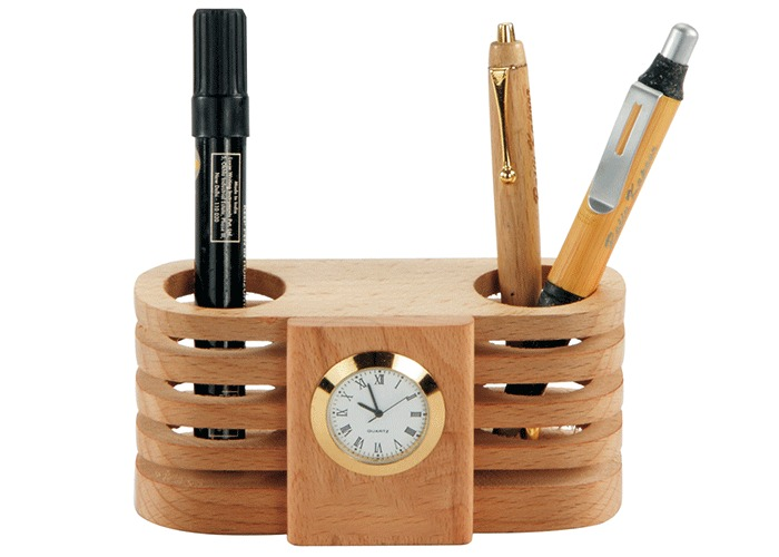 Pen-Holder-Clocks