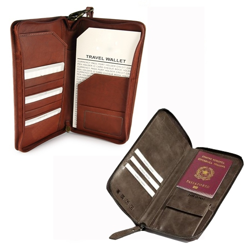Leather Travel Assessories Men