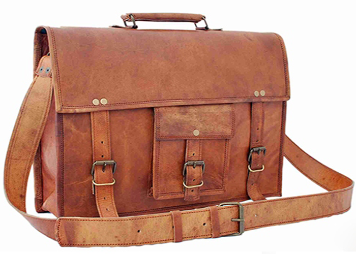 Women Leather Laptop Bags